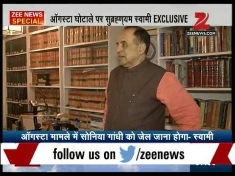 Subramanian Swamy questions Sonia gandhi