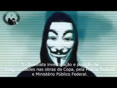 Anonymous Brasil   As 5 causas!