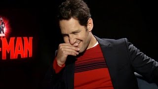 Paul Rudd Farts In Ant Man Interview