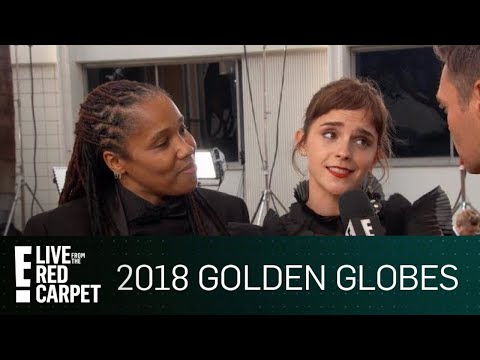 Emma Watson Attends Golden Globes With Imkaan Activist | E! Live from the Red Carpet
