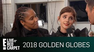Download Lagu Emma Watson Attends Golden Globes With Imkaan Activist | E! Live from the Red Carpet Gratis STAFABAND