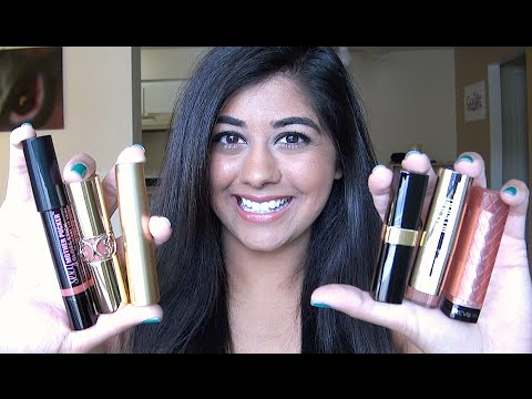 My Favorite Nude Lipsticks for Indian Skintones!