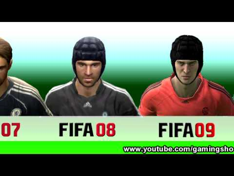 Petr Cech From FIFA 04 to 13