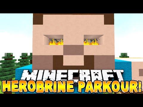 Minecraft - HEROBRINE'S PARKOUR! (Hilarious Vikkstar Rage) w/Preston & Vikkstar