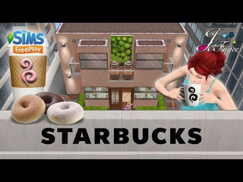 The Sims FreePlay 🍩☕️| STARBUCKS |☕️🍩 By Joy.