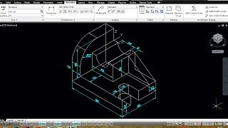AUTOCAD MECHANICAL MODELING PART2 -   DIMENSIONING A 3D MODEL
