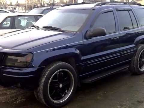 jeep grand cherokee limited 4 7 v8 youtube. Black Bedroom Furniture Sets. Home Design Ideas