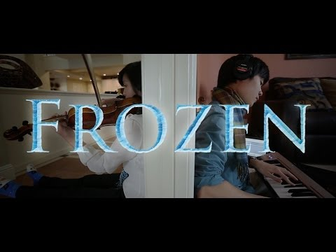Disney's Frozen Medley (violin viola piano) - Cover By Albert And Tiffany Chang video