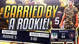 LEGEND CARRIED BY ROOKIE - NBA 2K17