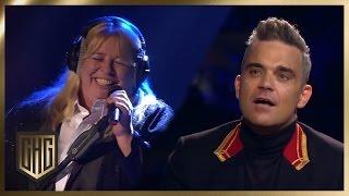 Sabine does sings Robbie Williams | Circus HalliGalli | ProSieben
