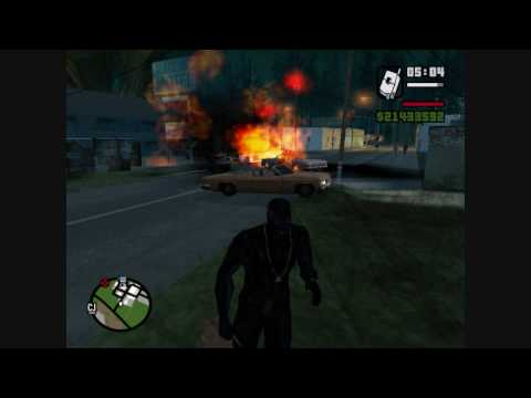 GTA SA : Momentos increibles /BeST MoMeNTs/ (lol KoRn lol)