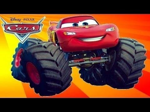 Мультики про Машинки. ТАЧКИ: МАКВИН - МОНСТР ТРАК. Monster Truck for kids. #Мультики 2016. Disney