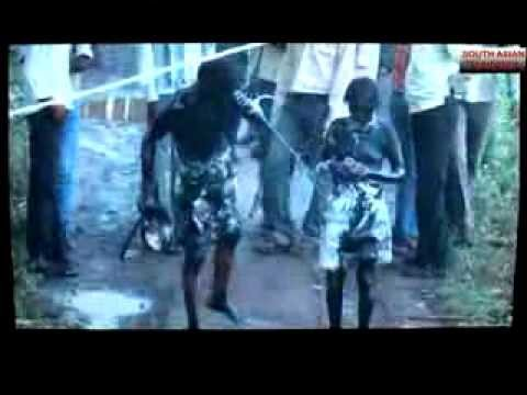 Video: Couple paraded naked for loving