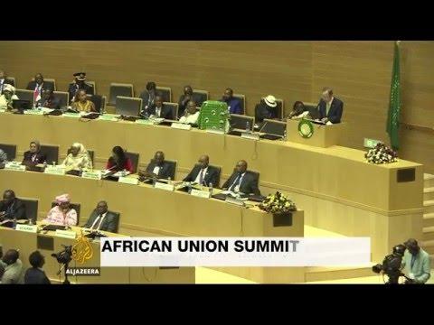 African Union summit focuses on Burundi