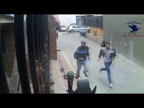 شاهد لحظة سرقة محفظة بها عشرين الف درهم مخصص لعملية بمدينة مارتيل