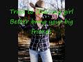 I Could Kick Your Ass-Justin Moore lyrics