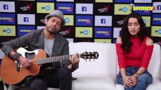 Watch Shraddha Kapoor Singing LIVE 'Tere Mere Dil' Song   SpotboyE Exclusive