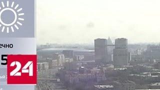В столице сохраняется летняя погода - Россия 24