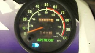 1998 Arctic Cat Powder Special 600 EFI GOOD RUNNING MOTOR