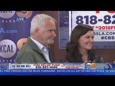 Fire Relief Fund: 'The Bold and the Beautiful' Stars Heather Tom and John McCook