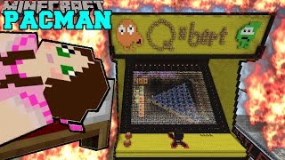 Minecraft: BURNING PACMAN (SURVIVE THE TNT, LAVA & FIRE!!) Mini-Game