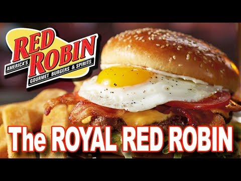 "Red Robin ""ROYAL RED ROBIN BURGER"" with WrecklessEating & SeanBrotherton"