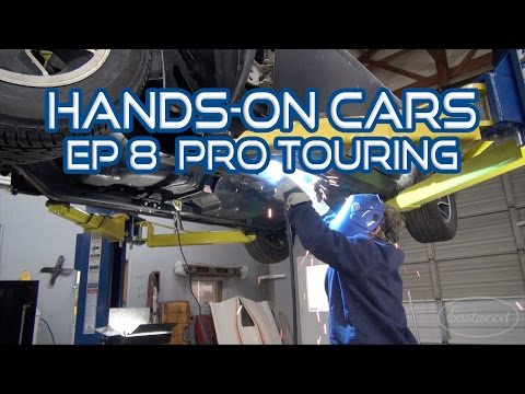 How To Install Frame Ties. Pro Touring. Burnouts & ElastiWrap on Hands-On Cars 8 - Eastwood
