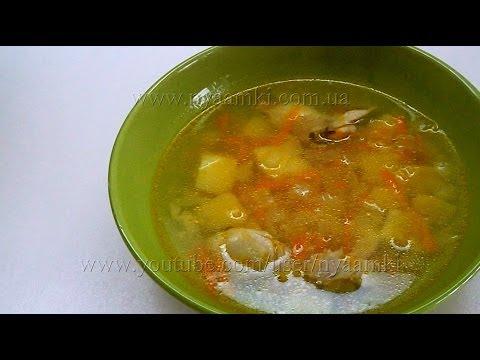 Вкусно и просто: Куриный суп с рисом. Пошаговый Рецепт приготовления с видео.