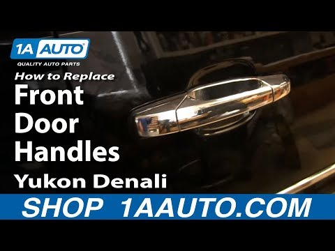 How To Install Replace Front Door handles 2007-13 Silverado Tahoe LTZ Sierra Yukon Denali SLT