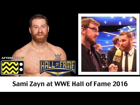 Sami Zayn Hall of Fame 2016 Interview   AfterBuzz TV