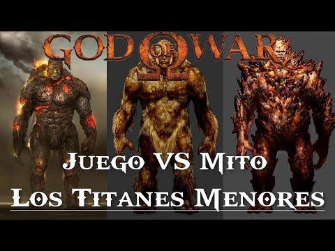 God of War || Juego VS Mito || Los titanes menores thumbnail