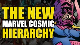Infinity War: The New Marvel Cosmic Hierarchy