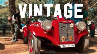 Vintage Car and Bike Show Bangalore, India