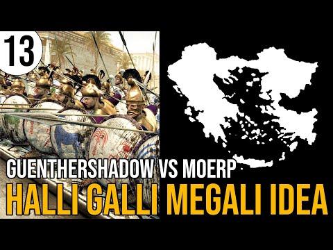 Total War: Rome 2 | Massalia in Halli Galli Megali Idea | 13 | GuentherShadow vs Moerp | Sehr Schwer