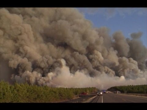 News Clips Germann Wild Fire 5-15-13, Gordon, Barnes Wisconsin, Wildfire