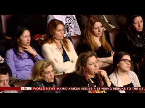 BBC World News broadcast of IQ2 Greece Debate on Immigration