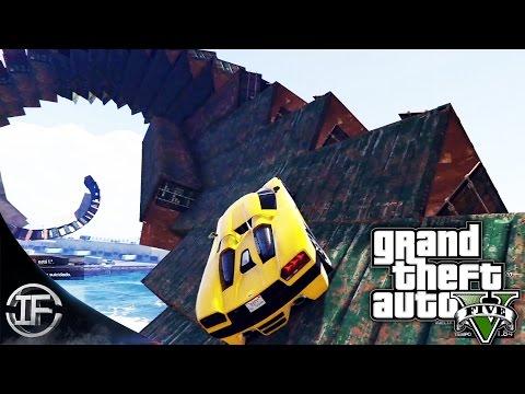 GTA V Online - LA ESPIRAL DE LA MIERTE!! - Carreras Épicas - Funny Moments GTA 5
