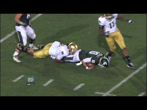 Michigan State Highlights – Notre Dame Football