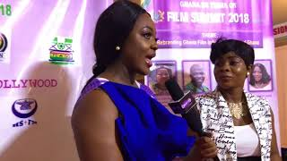 Jackie Appiah, Nadia Buari, Martha Ankomah & More Honored At Ghana 60 Years Film Summit 2018
