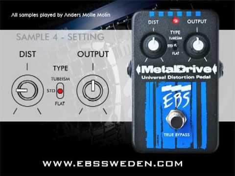 EBS MetalDrive - New Samples