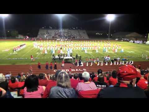 Bridge City High School Marching Band  October 10, 2014