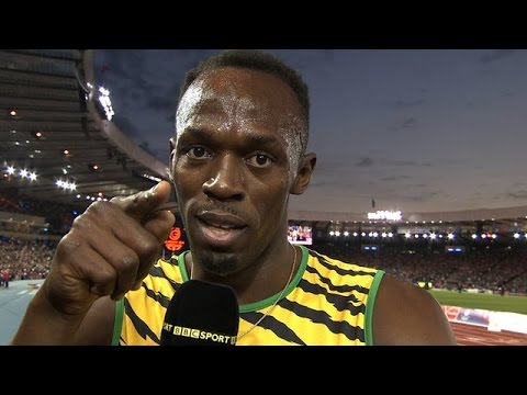 lol Usain Bolt Makes Fun Of BBC Sports Journalist