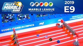 Marble Race: MarbleLympics 2019 E9 - Hurdles Race