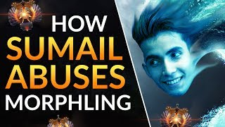 How SUMAIL ABUSES MORPHLING: Pro Tips and Tricks to CARRY | Dota 2 Gameplay Guide