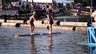 2014 World Log Rolling Championships, Lizzie Hoeschler Horvitz vs Shana Verstegen