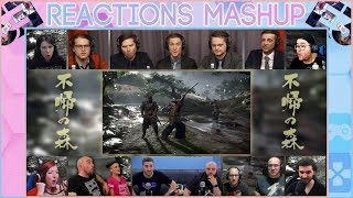 E3 2018 | Ghost of Tsushima Gameplay Reveal Reactions Mashup