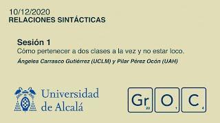 Jornadas GrOC de actualización gramatical - Sesión 1 (10 dic)