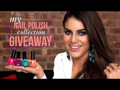 My Nail Polish Giveaway!!