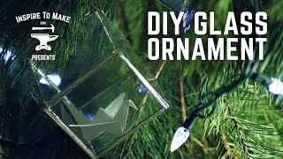 DIY Projects - Christmas Glass Ornament