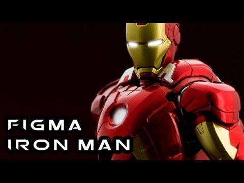 Figma IRON MAN MARK VII Avengers Figure Review